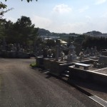 福岡市南区の福岡市営平尾霊園いてお墓の確認を行いました