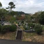 福岡市営霊園で現地の確認を行いました