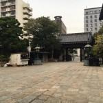 福岡市博多区の寺院墓地、萬行寺さんにやってきました