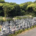 福岡市東区、福岡市営三日月山霊園でご納骨式を行いました。