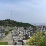 福岡市営西部霊園でお墓の現地確認を行いました