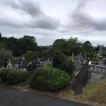 福岡市営平尾霊園での現地の確認を行いました