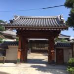 博多区の寺院墓地西林寺に現地確認の為やってきました