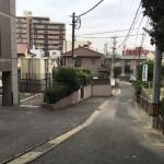 福岡市中央区の地域墓地、田島墓地でお施主様とお打ち合わせでした