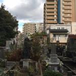 福岡市中央区の寺院墓地で改修工事を行いました