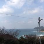 海が見える最高の景観!糸島市にある二見ヶ浦霊園さまへお墓クリーニングの現地確認。