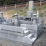 粕屋郡新宮町の新宮霊園で、お墓のクリーニングを行いました