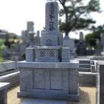 地下式納骨を地上式納骨へ、お墓のリフォームを行いました。平尾霊園にて