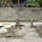 佐賀県鳥栖市の墓地にてお墓じまい工事が完了しました(通路狭い墓地)