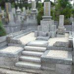 お墓の樹木伐採と砂利入れ、納骨室の洗浄と拝石部分の修理等を行いました。平尾霊園にて