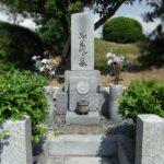 水が溜まっていないか心配される地下納骨型のお墓を、地上型納骨室のお墓へ改修工事。福岡市営平尾霊園にて